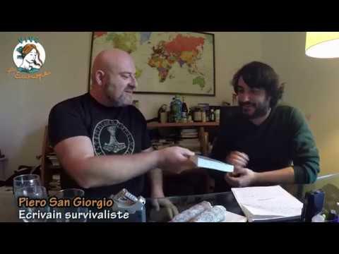 Piero San Giorgio et le néo-fasciste français Daniel Conversano